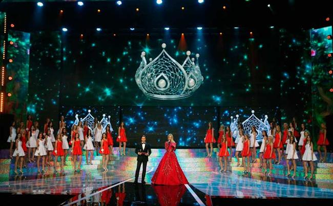 """LED экраны на """"Мисс Россия-2015"""""""