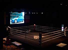Светодиодный экран для бокса