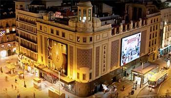 Cine Callao в Мадриде