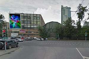Медиафасад Москва Большая Семеновская улица д. 49