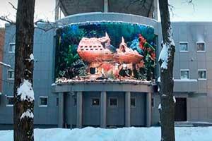 Медиафасад Москва МКАД, 42-й километр, д. 18А