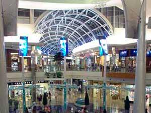 Светодиодные экраны в ТЦ Millenia 2 этаж